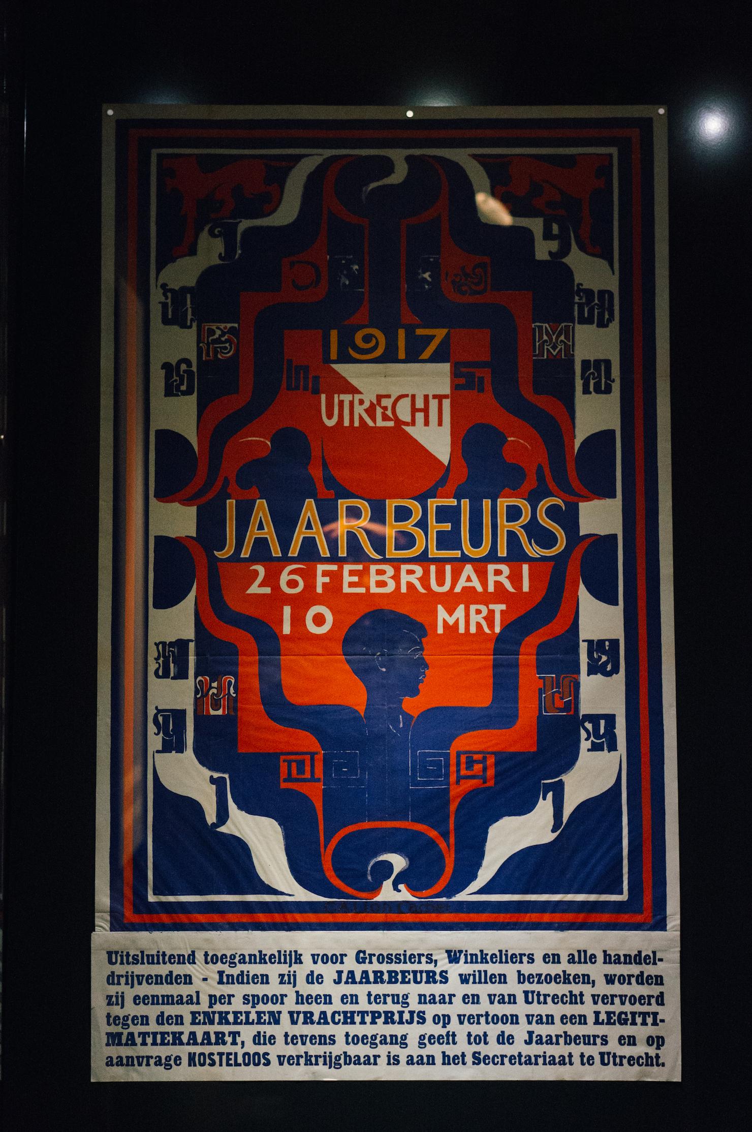 affiches van de jaarbeurs
