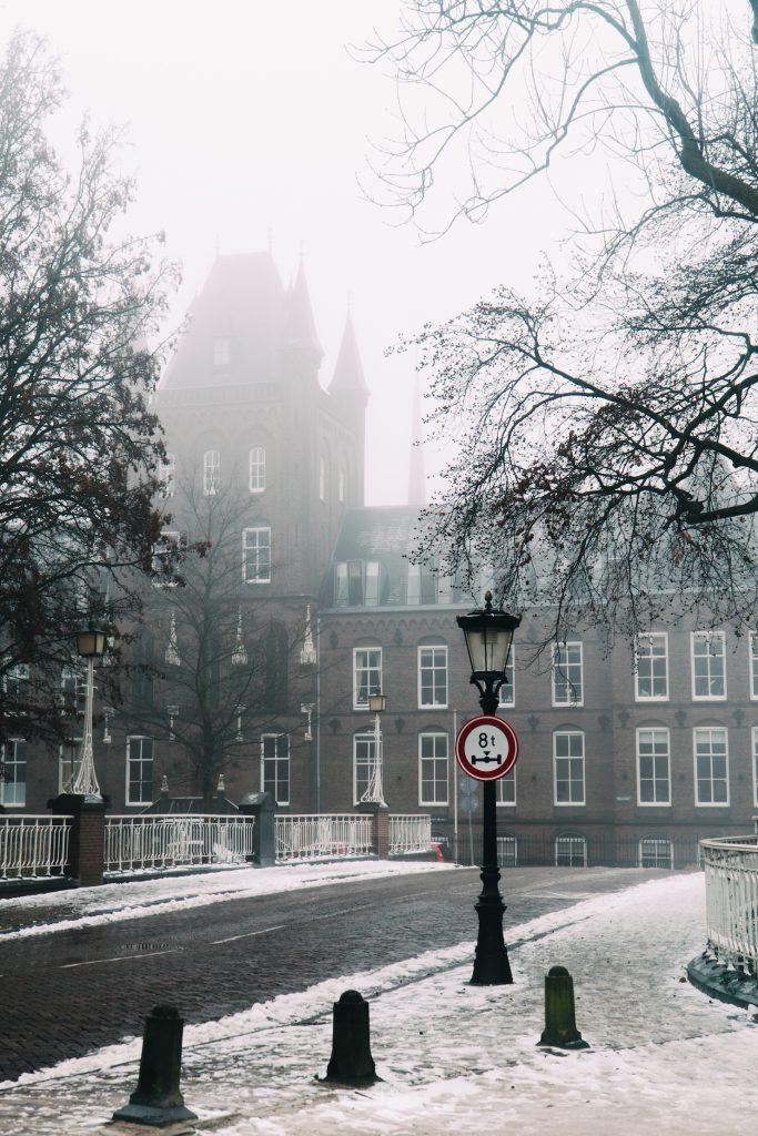 Sneeuw in Utrecht