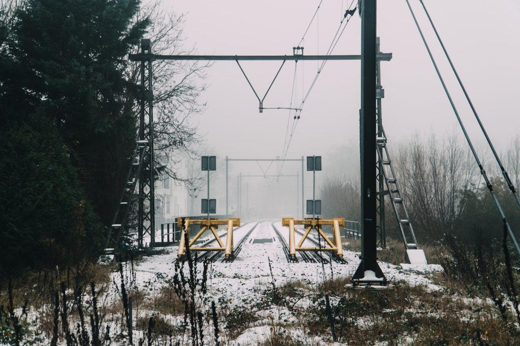Sneeuw in Utrecht-